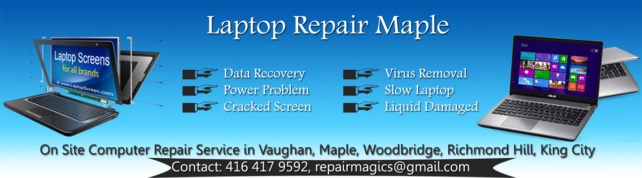 laptop repair maple